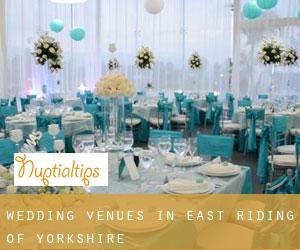 Wedding Venues in East Riding of Yorkshire