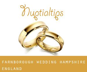 Farnborough wedding (Hampshire, England)