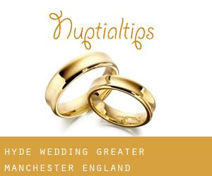 Hyde wedding (Greater Manchester, England)